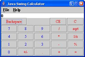 Calculator By Java - Swing Step Programming